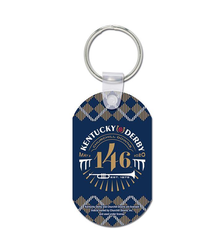 Kentucky Derby 146 Metal Key Ring,22753120