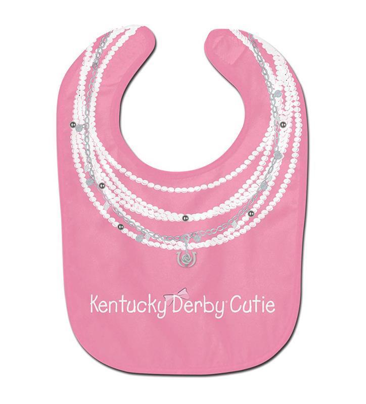 Kentucky Derby Cutie Baby Bib,A2652317