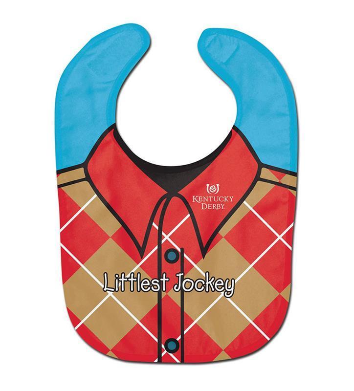 Kentucky Derby Littlest Jockey Baby Bib,A2652218