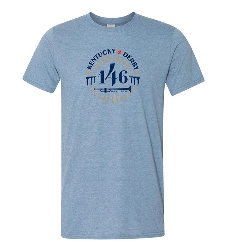 146 Kentucky Derby Event Logo Tee,KYM0005-2C