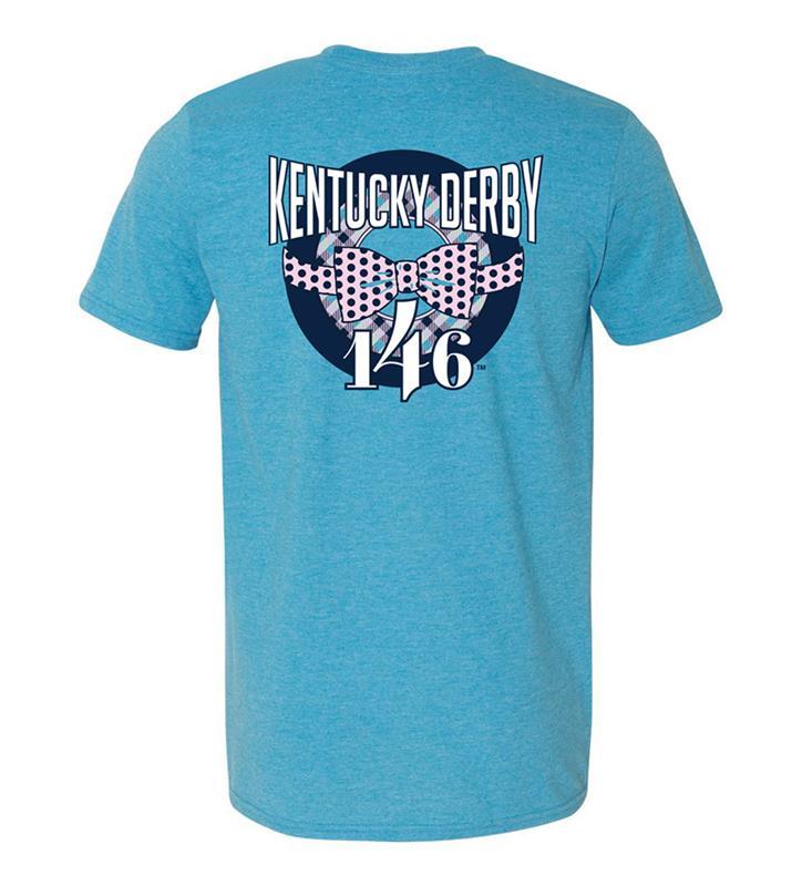 146 Kentucky Derby Bowtie Design Tee,KYM0041-15A