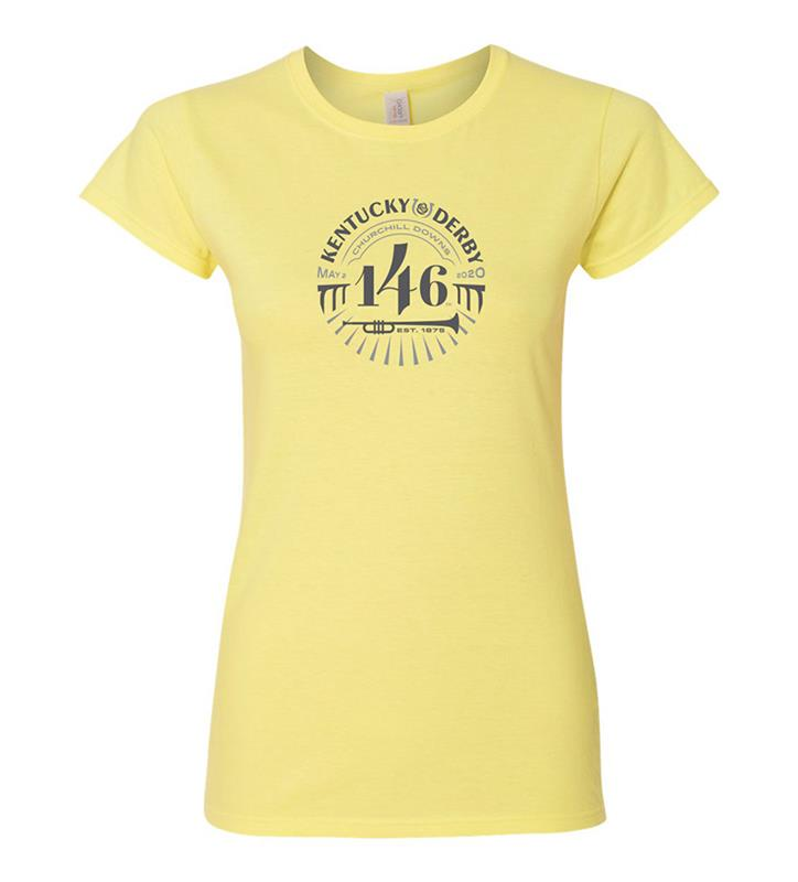 146 Kentucky Derby Ladies Event Logo Tonal Tee,KYW0043-16A