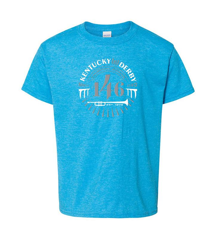 146 Kentucky Derby Youth Event Logo Tee,KYY0051-20A