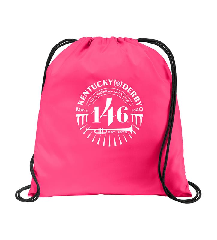 146 Kentucky Derby Event Logo Drawstring Bag,KYA0114-25D