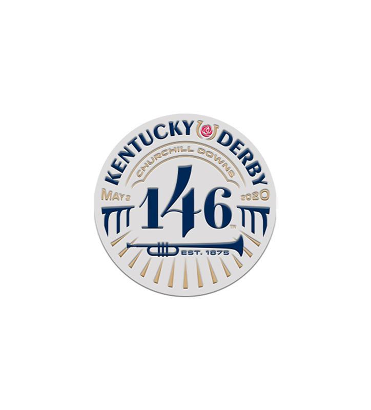 146 Kentucky Derby PVC Logo Magnet,KYN0133-28F