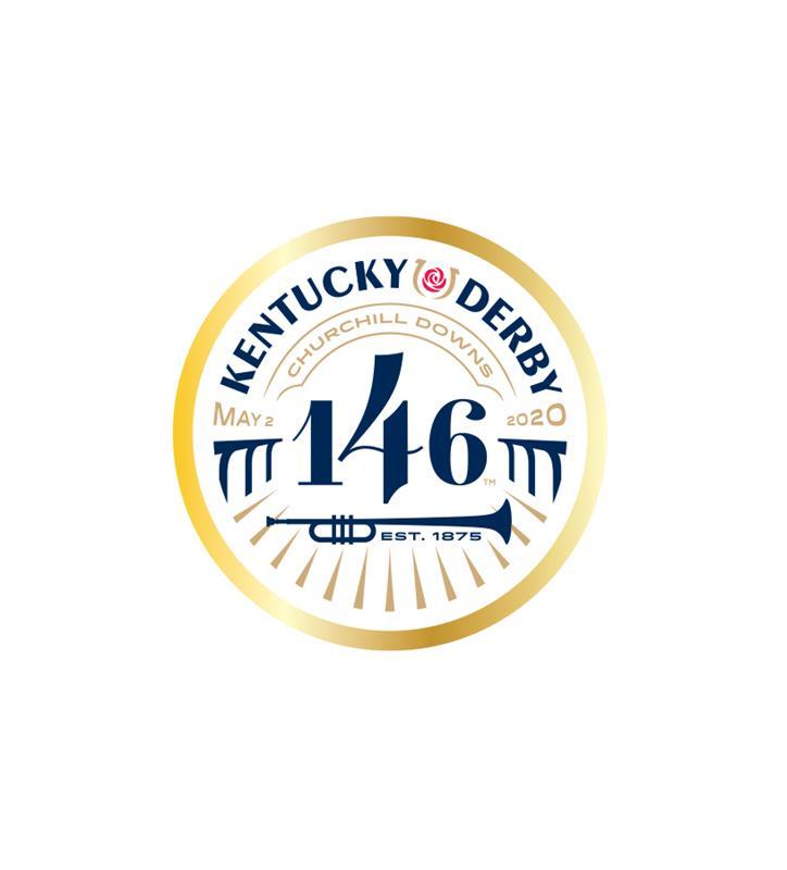 146 Kentucky Derby Event Logo Pin,KYN0136-30A