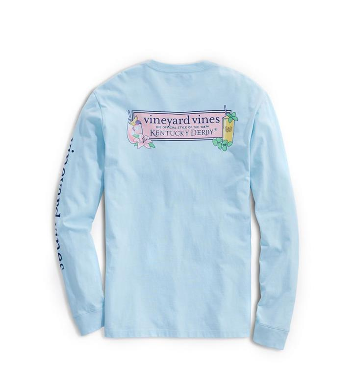2020 Long-Sleeve Julep & Lily Tee,Kentucky Derby 146-2020 Vineyard Vines Collection,1V011258