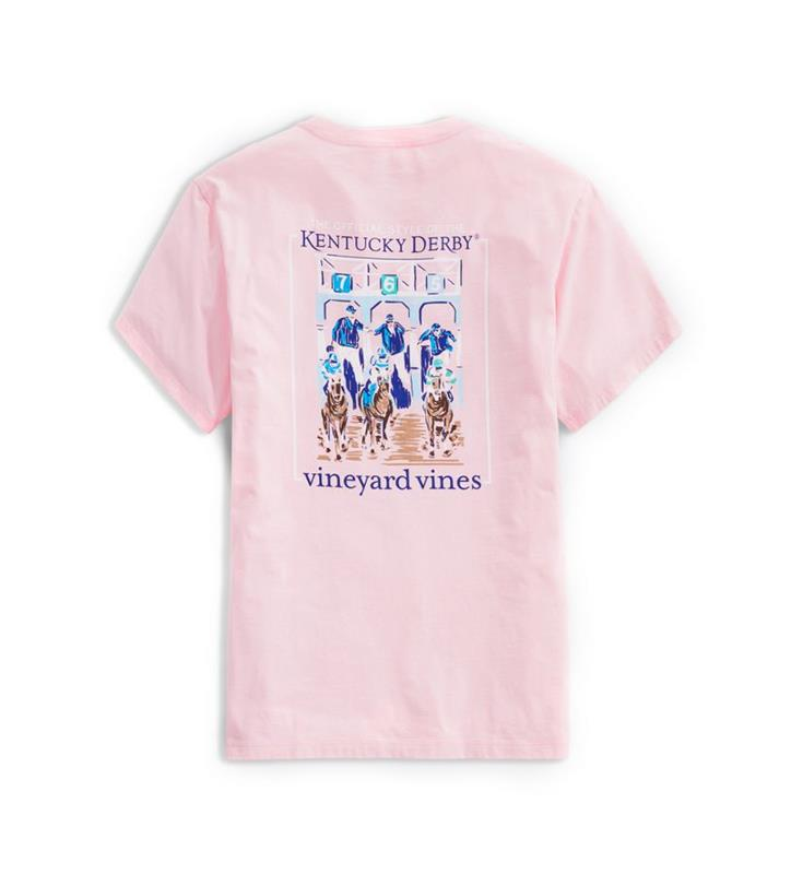 2020 Out of the Gates Tee,Kentucky Derby 146-2020 Vineyard Vines Collection,1V011573