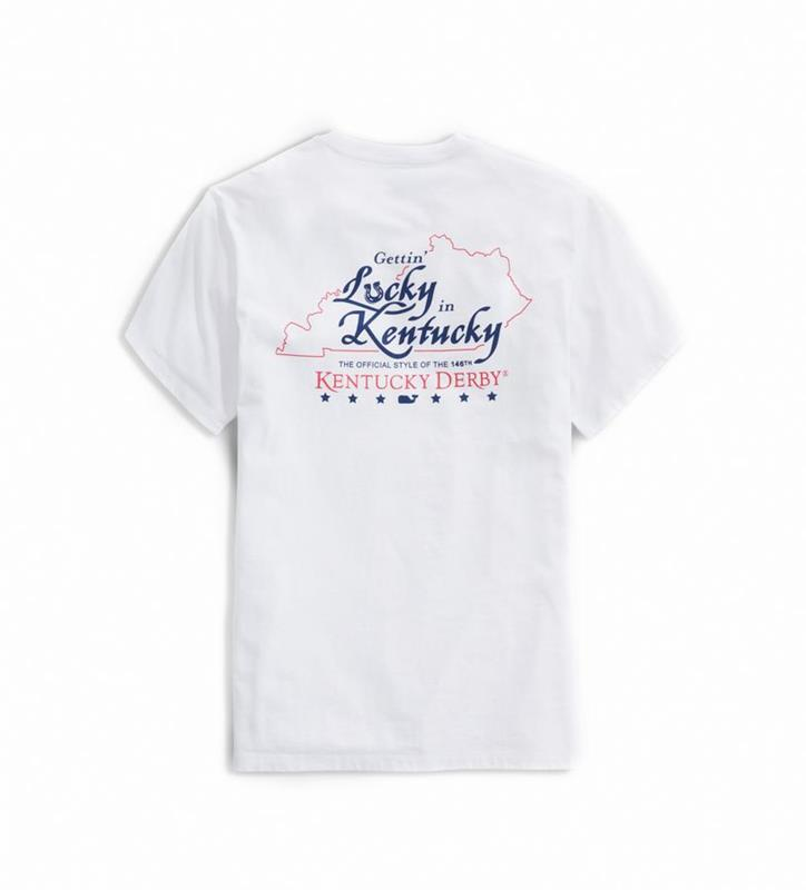 2020 Lucky In Kentucky Tee,Vineyard Vines,1V011259