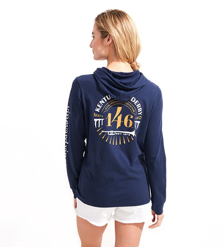146 Ladies' Logo Hoodie,Vineyard Vines,2V001327