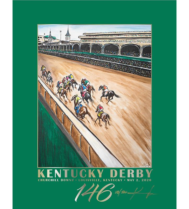146 Art of the Derby Limited Edition Poster,Kentucky Derby 146-2020 Art of the Derby,AKY-N0021-10A