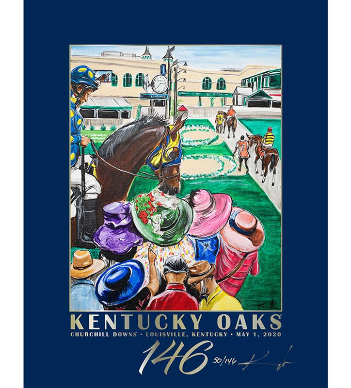 146 Art of the Oaks Limited Edition Poster,AKY-N0051-10B