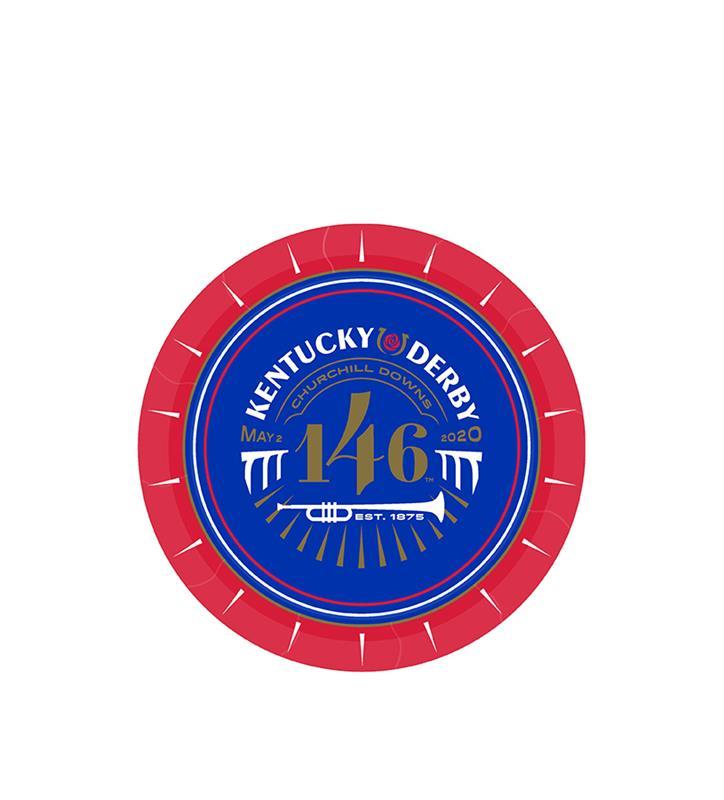 Kentucky Derby 146 Appetizer Plate,46477-7IN PLATE