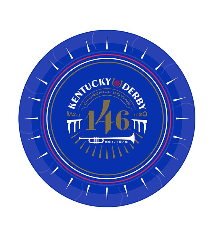 Kentucky Derby 146 Luncheon Plate,46479-9IN PLATE