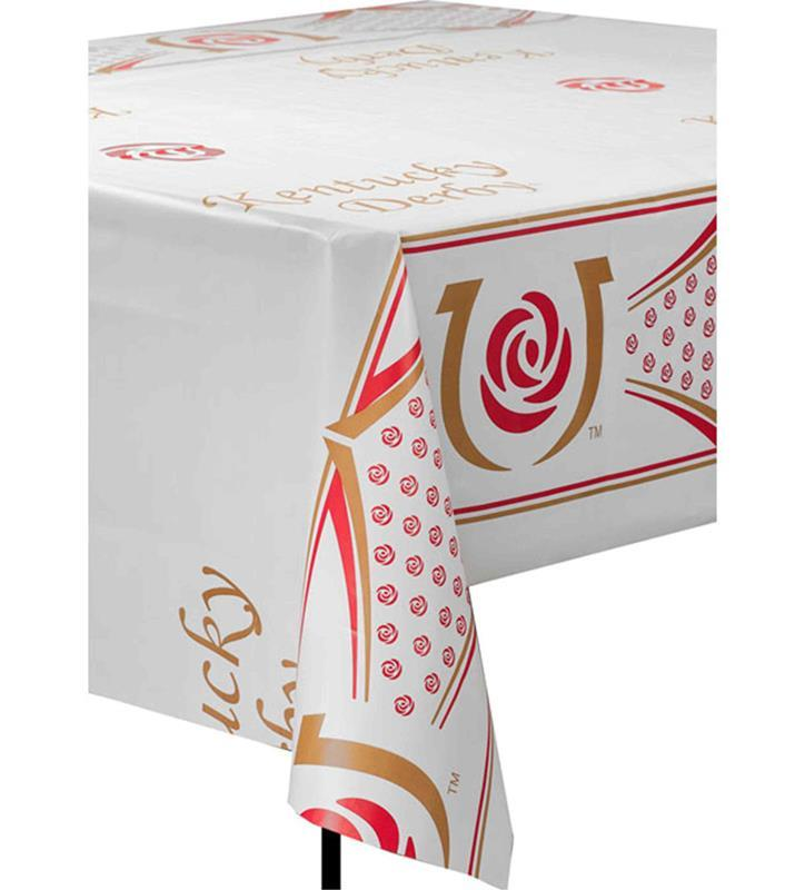 Kentucky Derby Icon Table Cover,91511-TABLECOVER