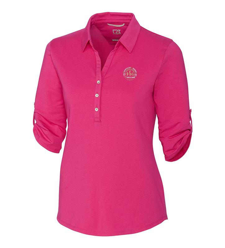 Kentucky Oaks 146 Ladies Thrive Polo,Cutter & Buck,LCK00004-RFH